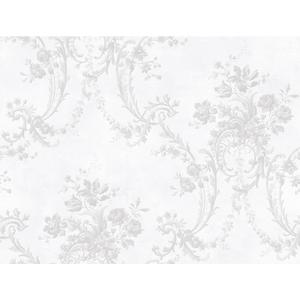 Grey Damask Wallpaper GD5433