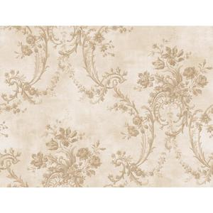 Grey Damask Wallpaper GD5434