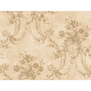Grey Damask Wallpaper GD5435