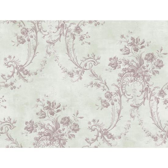 Grey Damask Wallpaper GD5436