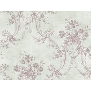 Grey Damask Wallpaper GD5436