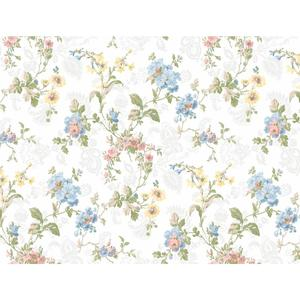 Geranium Multi Floral Wallpaper GD5440