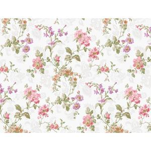 Geranium Multi Floral Wallpaper GD5442