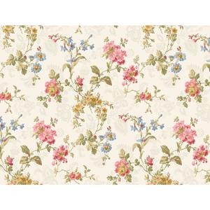 Geranium Multi Floral Wallpaper GD5443