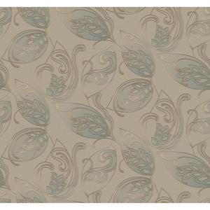 Leaves Jacobean Wallpaper Y6150405