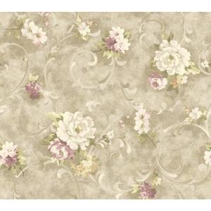 Painterly Scroll Wallpaper HP0308