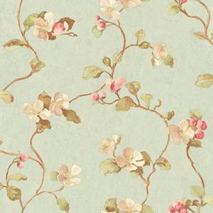 Floral Spray Wallpaper HP0415