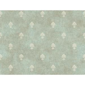 Mini Fleur D'Lis Wallpaper CR2732
