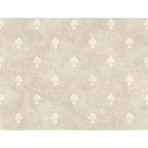 Mini Fleur D'Lis Wallpaper CR2734