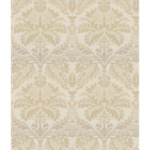 Linear Damask Wallpaper CR2741