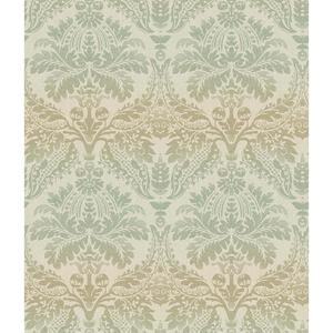 Linear Damask Wallpaper CR2742
