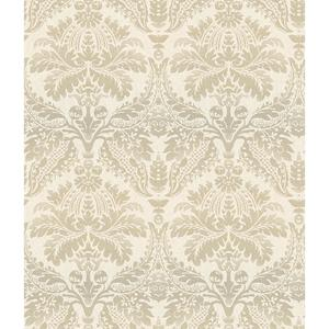 Linear Damask Wallpaper CR2744