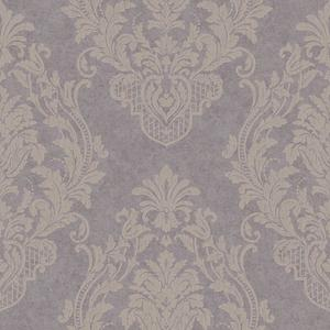 Distressed Damask Spot Wallpaper CR2805