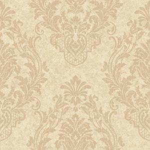 Distressed Damask Spot Wallpaper CR2806
