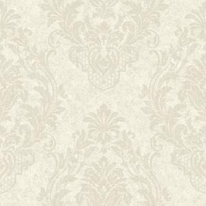 Distressed Damask Spot Wallpaper CR2808