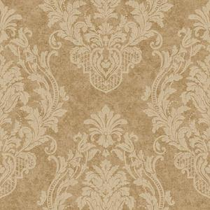 Distressed Damask Spot Wallpaper CR2809