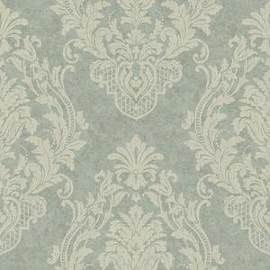 Distressed Damask Spot Wallpaper CR2811