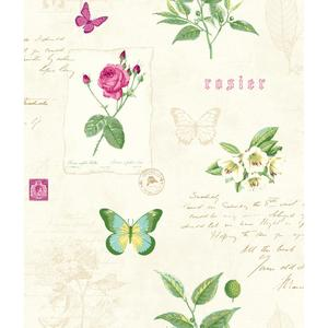 Rosier Botanical Wallpaper KH7054