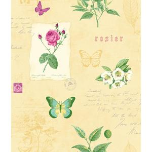 Rosier Botanical Wallpaper KH7055