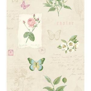Rosier Botanical Wallpaper KH7057