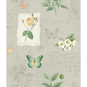 Rosier Botanical Wallpaper KH7058