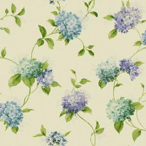 Hydrangea Trail Wallpaper KH7068