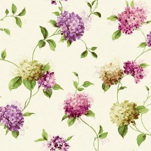 Hydrangea Trail Wallpaper KH7071