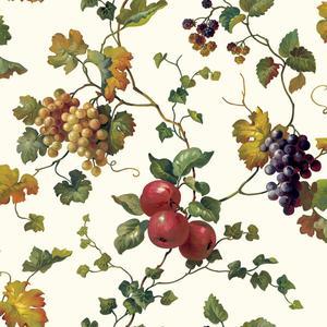 Fruit & Ivy Wallpaper KH7091