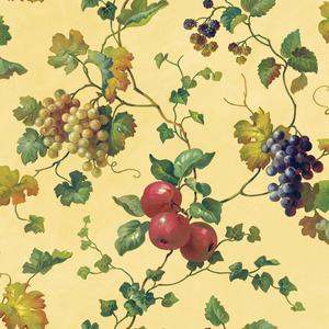 Fruit & Ivy Wallpaper KH7092