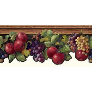 Fruit & Ivy Border KH7131B