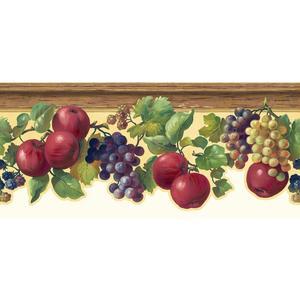 Fruit & Ivy Border KH7132B
