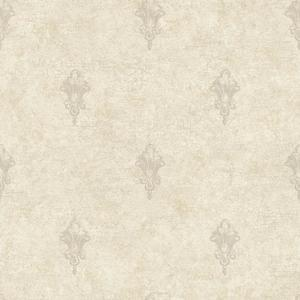 Ornamental Toile Spot Wallpaper NK2095