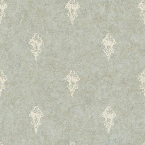 Ornamental Toile Spot Wallpaper NK2097