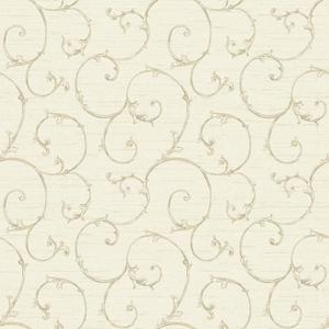 Small Decorative Scroll Wallpaper NK2149
