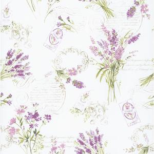 Toile Botanical Wallpaper PA110301
