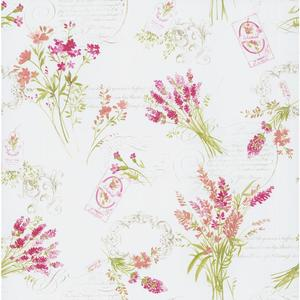 Toile Botanical Wallpaper PA110304