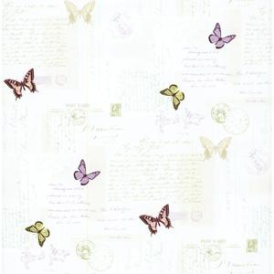 Butterfly Mail Wallpaper PA110502