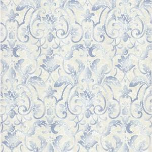 Embossed Damask Wallpaper PA110602