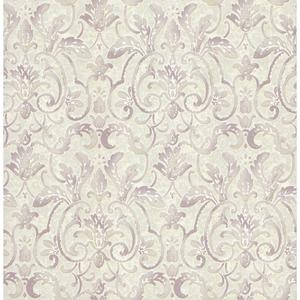 Embossed Damask Wallpaper PA110603