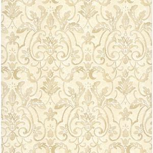 Embossed Damask Wallpaper PA110605