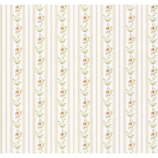 Bloom Stripe Wallpaper PA111004