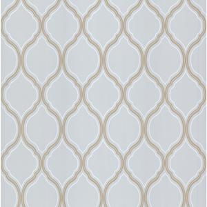 Ogee Trellis Wallpaper PA111203