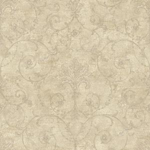 Baroque Allover Wallpaper NK2037