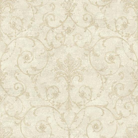 Baroque Allover Wallpaper NK2038