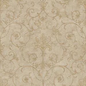 Baroque Allover Wallpaper NK2040