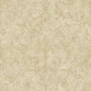 Baroque Allover Wallpaper NK2041