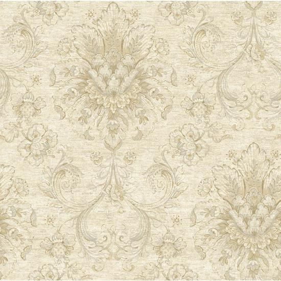 Jacobean Damask Wallpaper NK2054