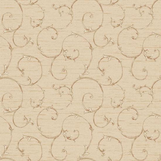 Small Decorative Scroll Wallpaper NK2152