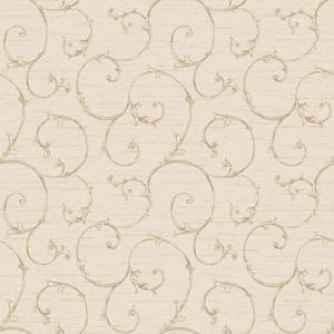 Small Decorative Scroll Wallpaper NK2153