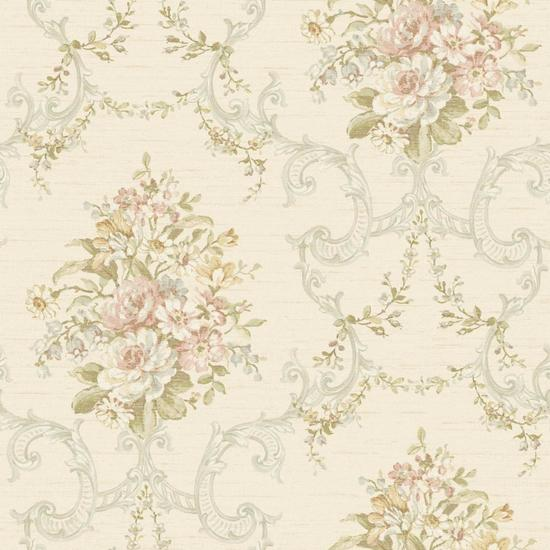 Floral & Ornamental Wallpaper NK2080